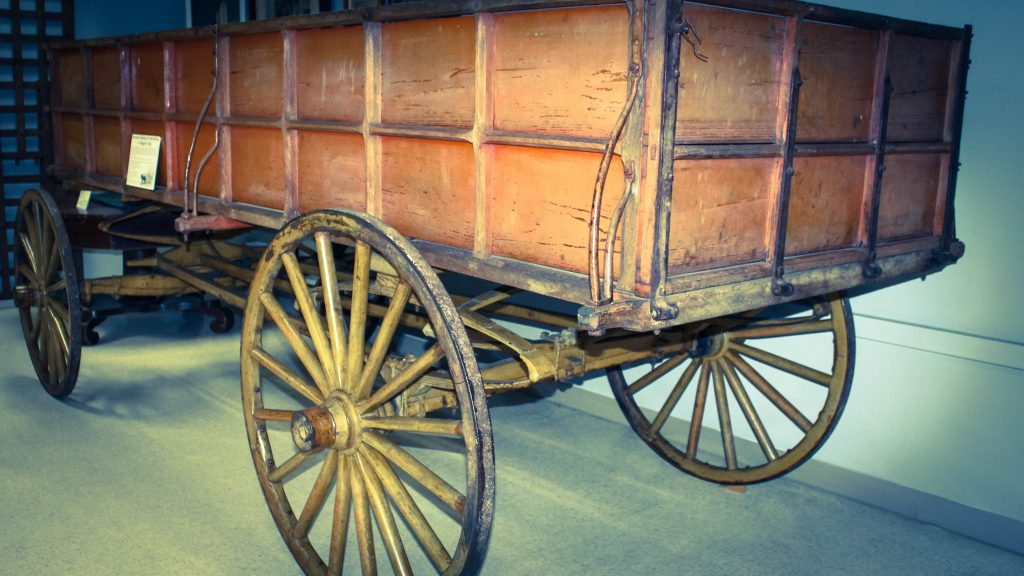 Wagon that carried John Brown to his execution