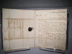 Letter written by George Washington